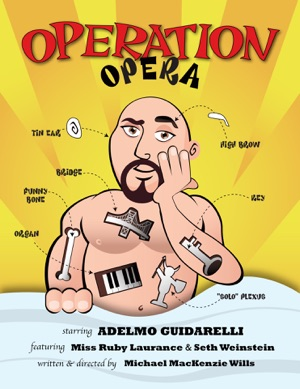 Operation Opera starring Adelmo Guidarelli show logo
